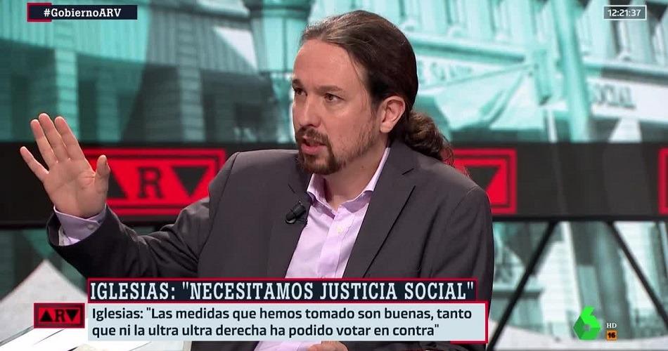 Pablo Iglesias confirma que formará parte de la mesa de diálogo sobre Cataluña