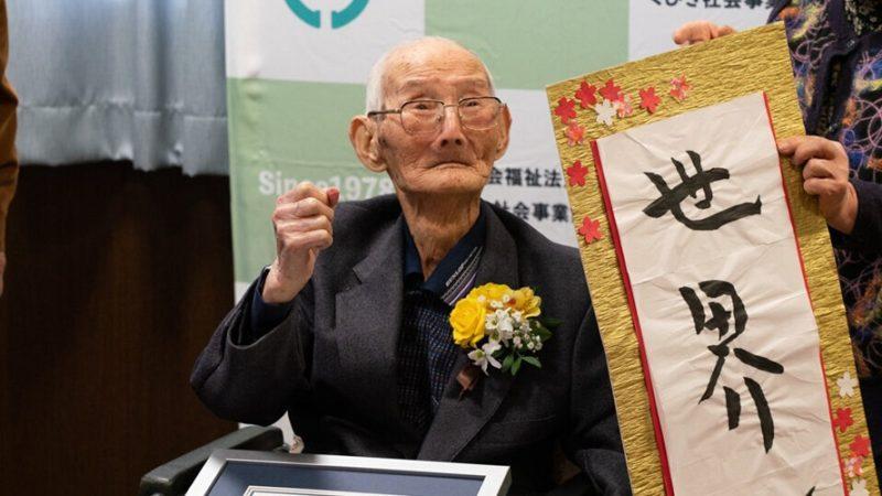 Japones 112 anos
