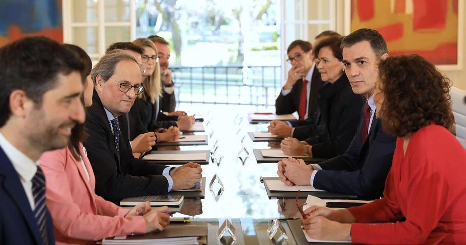 La mesa de diálogo entre el Gobierno y la Generalitat se reunirá cada mes en Madrid y Barcelona