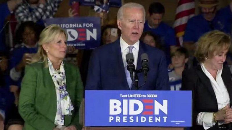 Joe Biden carrera democrata