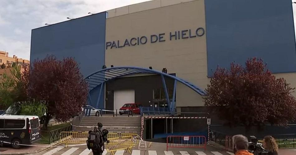 El Palacio de Hielo de Madrid ya funciona como morgue para los fallecidos por coronavirus