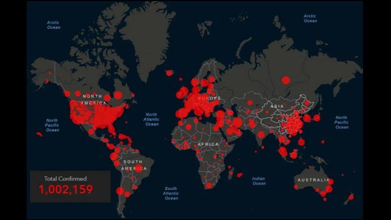 Un millon de casos en el mundo