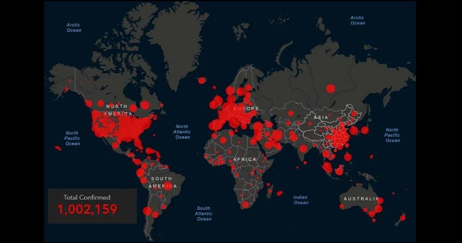 Un millón de casos por Covid-19 en todo el mundo tras duplicarse los contagios en una semana