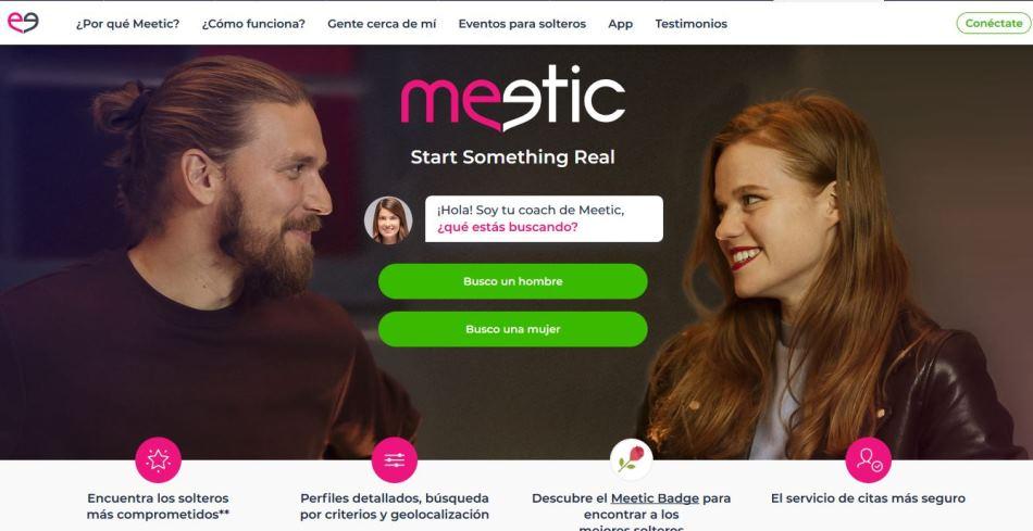 Meetic, un pase para dejar la soltería