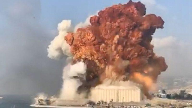 Fuerte-explosión-Beirut-Líbano