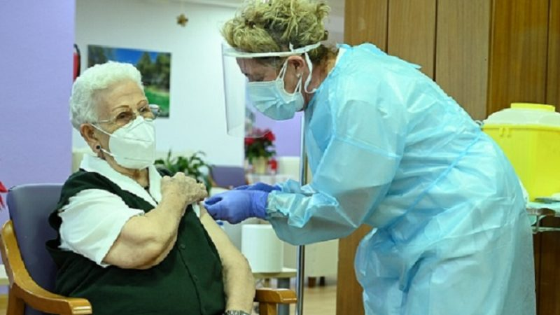 Vacunacion covid Espana 1