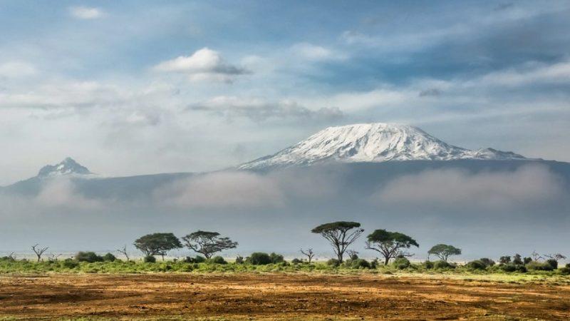 Parque Nacional de Amboseli en Kenya