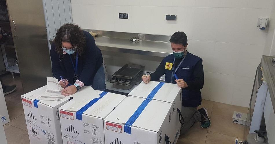 España avanza con campaña de vacunación contra el coronavirus en medio de una nevada historica