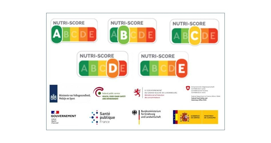 Siete países europeos se comprometen a facilitar el uso de Nutri-Score