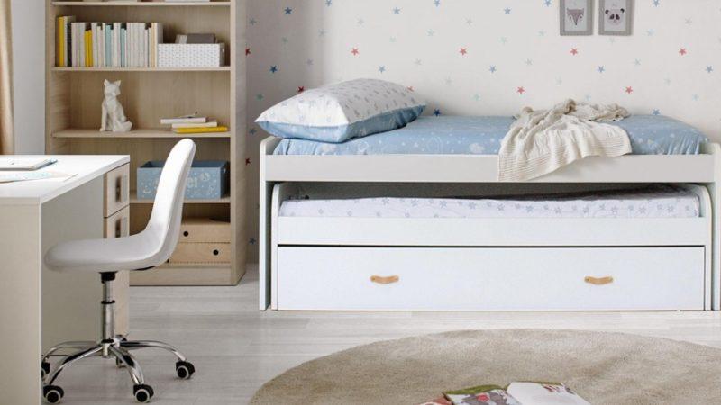 Ventajas camas nido y literas para niños